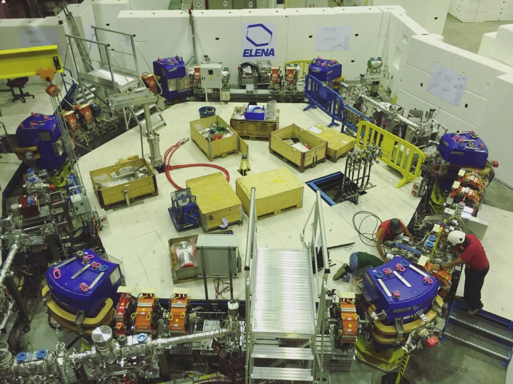 When it will be finished, the new antiproton decelerator ELENA will allow scientist at Antimatter Factory to have 100 times more antiprotons to work with.