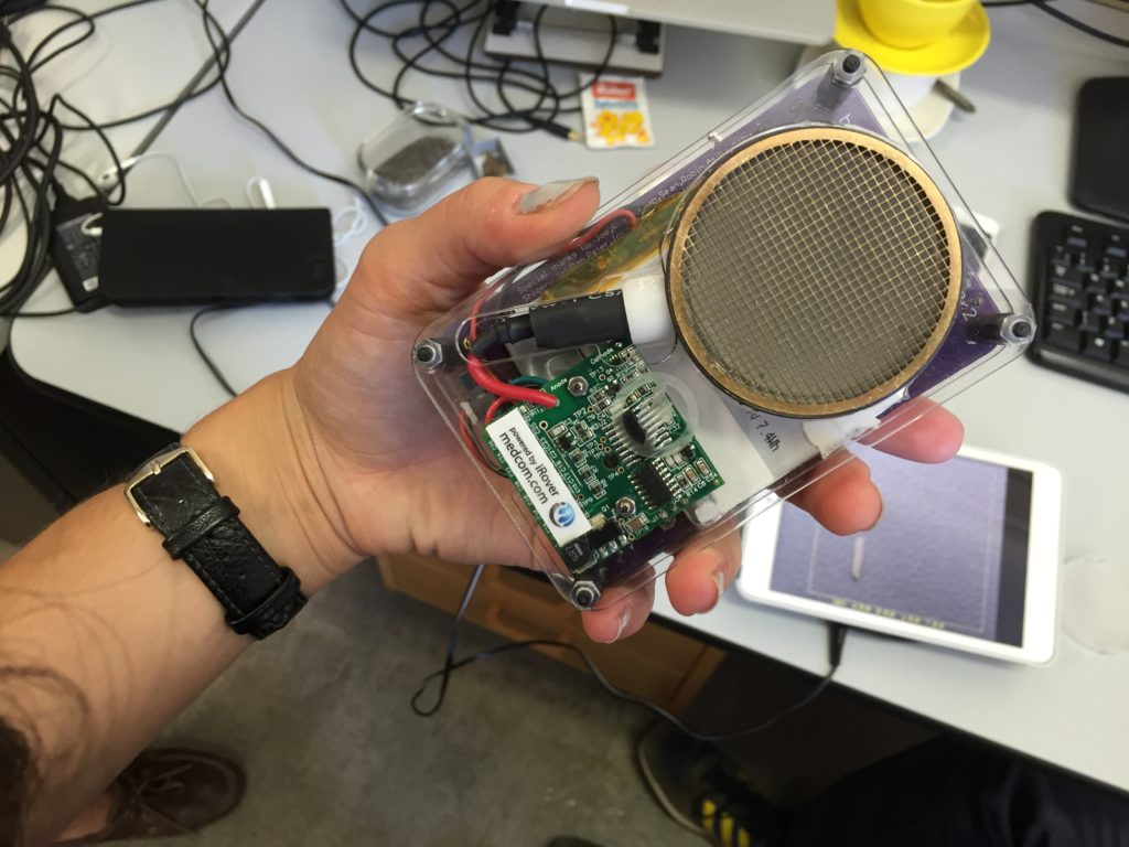 Safecast, an affordable radioactivity detector